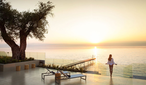 Domes Miramare, a Luxury Collection Resort: Haute Living Selection Deck