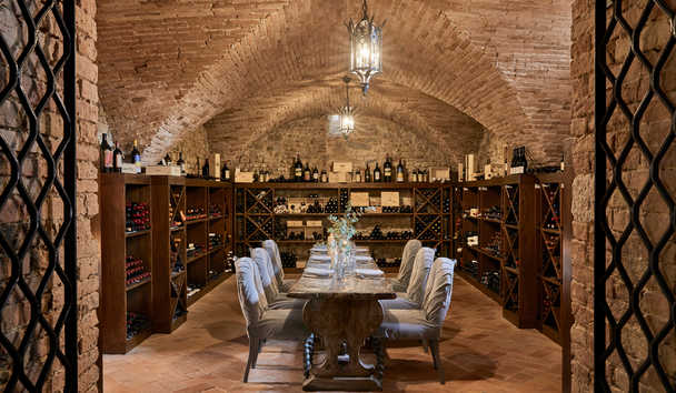 COMO Castello del Nero: Wine Cellar