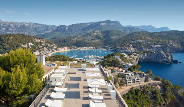 Jumeirah Port Soller Hotel & Spa: Tramuntana Terrace and Port Views