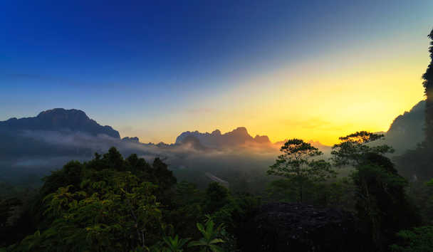 Elephant Hills: Khao Sok National Park at Sunrise