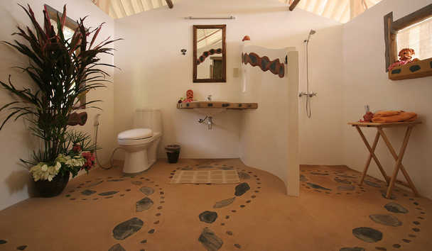 Elephant Hills: Elephant Camp Tent Bathroom