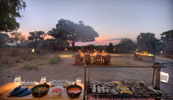 Roho ya Selous: Sunset barbecue