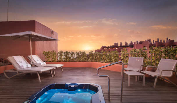 Sheraton La Caleta Resort & Spa: Club Terrace Suite Jacuzzi