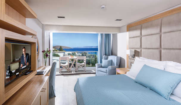 Elounda Bay Palace: Deluxe Room Sea View