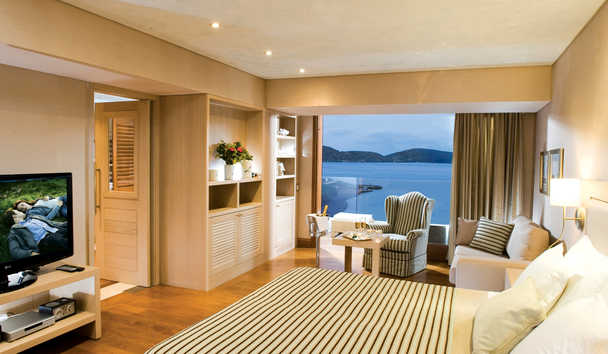 Elounda Bay Palace: Deluxe Hotel Suite Sea View