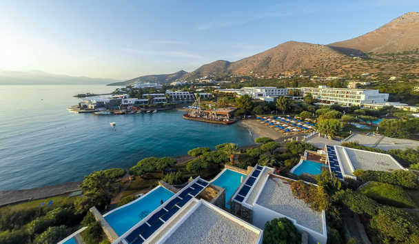 Elounda Bay Palace: Aerial View
