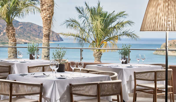 Blue Palace, A Luxury Collection Resort & Spa, Crete: Anthos Restaurant