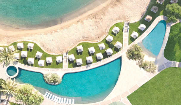Porto Elounda GOLF & SPA RESORT: Private Sandy Beach