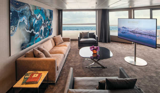 Scenic Eclipse: Owners Penthouse suite