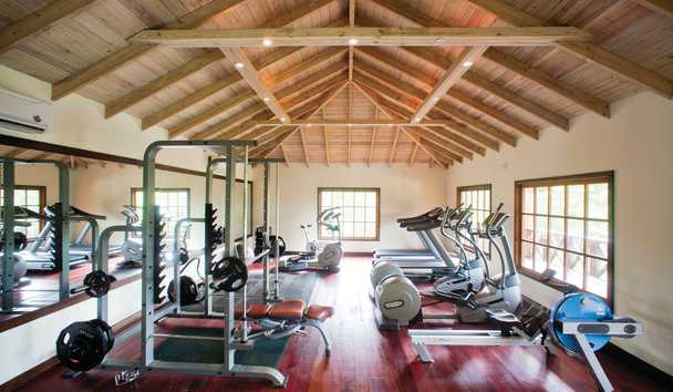 Hermitage Bay: Fitness centre