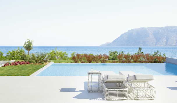 Ikos Aria: Deluxe Two Bedroom Bungalow Suite with Private Pool