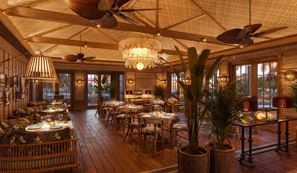 Little Palm Island & Resort: The Dining Room (Artist's Impression)