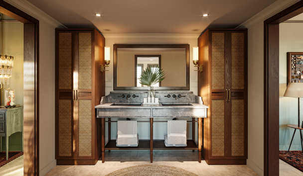 Little Palm Island & Resort: Bungalow Bathroom (Artist's Impression)