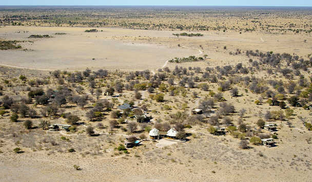 Kalahari Plains Camp: Aerial