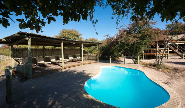 Kalahari Plains Camp: Swimming Pool