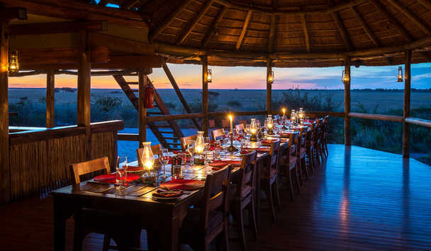Kalahari Plains Camp: Dining Area
