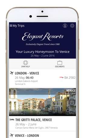 elegant resorts phone app